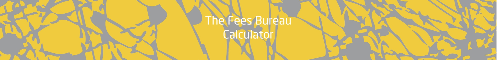 The Fees Bureau Banner